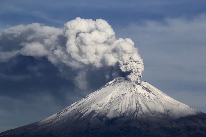 Mexico City Volcano